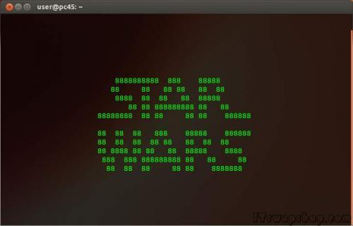 Linux - Star Wars in Terminal 2