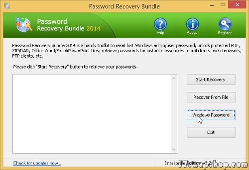 How to Easily Reset Windows Passwords with PCUnlocker or Password Recovery Bundle 1